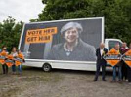 lib dems attacked over 'distasteful' attack poster