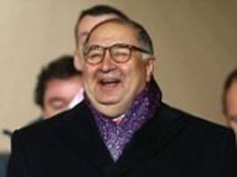 arsenal reject £1bn bid - but who are usmanov and kroenke?