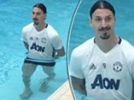 Ibrahimovic jokes he's 'ready' for Europa League final