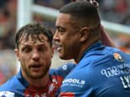 widnes 12-34 wakefield: chase's debut ends in defeat