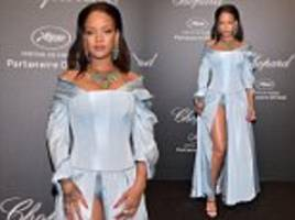 cannes 2017: rihanna wears victorian-inspired gown