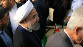 iran election: hassan rouhani on course for second term