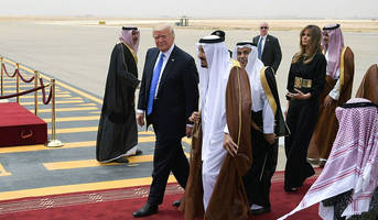 Trump Signs Single Largest Arms Deal In US History With Saudi Arabia: Up To $350 Billion Over Ten Years
