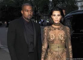 Stone-Faced Kanye West Steps Out for Dinner Without Kim Kardashian Amid Split Rumors