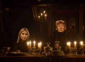 jimmy kimmel turns donald trump's media lunch into 'got' red wedding