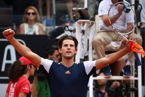 Italian Open: Dominic Thiem tames seven time Rome champion Rafael Nadal to reach semi finals