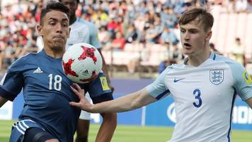 England U20s beat Argentina in World Cup opener