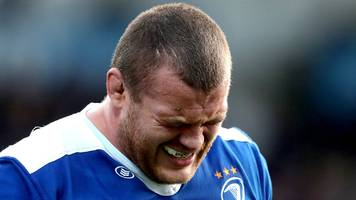 jack mcgrath: prop is lions fitness concern after injury as leinster lose