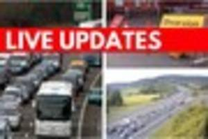 devon set for traffic delays as county show underway and chiefs...