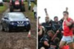 exeter avoids gridlock amid exodus of joyful rugby fans and muddy...