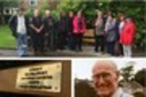 People gather to pay tribute to missing Bideford man Clive...