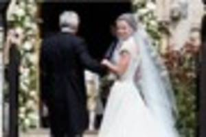 Pippa Middleton got married today and everyone looked amazing