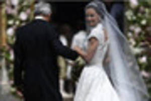 Royalty watch on as Pippa Middleton marries in 'society wedding...