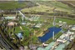 Drone footage shows change of Lincolnshire theme park since its...