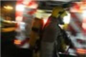 A quick-thinking neighbour rescues a man during house fire in...