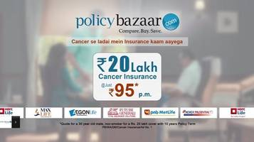 Policybazaar.com Launches a New Campaign for Cancer Insurance Awareness