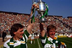 celtic fans still hail cab firm boss anton rogan for 1988 double just don't mention 1990 penalty howler