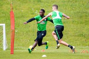celtic striker moussa dembele called up for france under-21's as he steps up training ahead of cup final