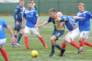 cowdenbeath v east kilbride: no old pals act for kilby's kieran gibbons in final
