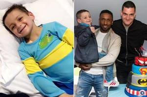 Fresh blow for Bradley Lowery as family reveal new tumour day after 6th birthday party