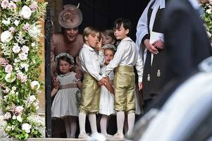 Pippa Middleton marries James Matthews in front of royalty, family and friends
