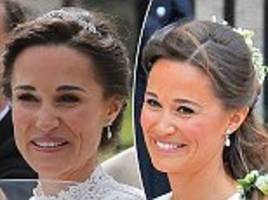 pippa recycles diamond earrings she wore to royal wedding