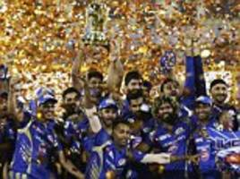 mumbai indians win 3rd ipl title in dramatic final