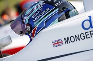 Billy Monger visits the safety and medical team that saved his life