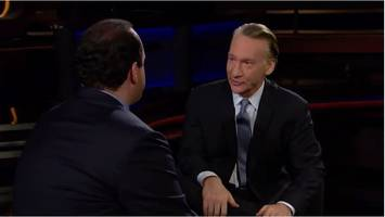 hbo's bill maher bets 100 rubles that trump will be out by christmas