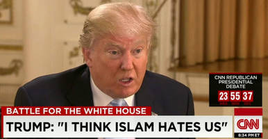 Is Trump About To Flip-Flop On Radical Islamic Terrorism?
