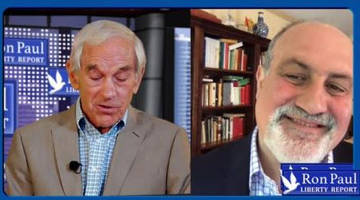 Ron Paul Interviews Nassim Taleb: We'll Destroy What Needs To Be Destroyed