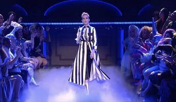 Katy Perry Performs Taylor Swift Diss Track 'Swish Swish' on 'SNL'