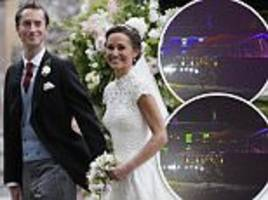 pippa middleton and james matthews' wedding reception
