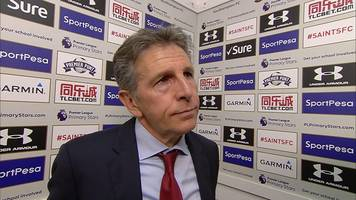 Southampton 0-1 Stoke: Claude Puel unfazed by job speculation