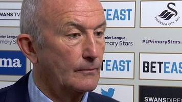 swansea 2-1 west brom: tony pulis disappointed by 'shocking' defending