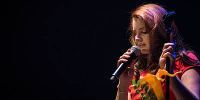 watch lana del rey debut new song