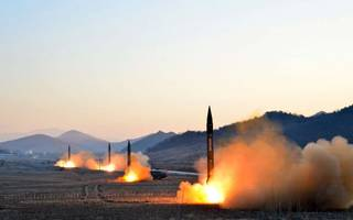north korea just fired a new missile test