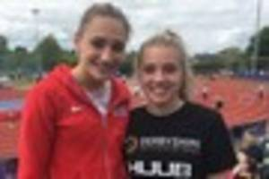 Athletics: PB for Alex Knibbs at Loughborough and county champs...
