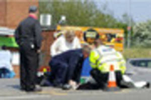 Woman, 86, lays in a gutter waiting for an ambulance for more...