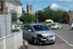 A biker has been seriously injured in a crash on a busy Tunbridge...
