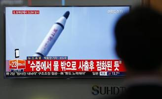 The Latest: White House says NKorea tests midrange missile