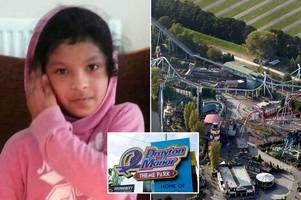 schoolgirl, 11, killed in drayton manor theme park tragedy 'died after being hit by another boat'