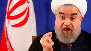rouhani dismisses trump warning over iran 'threat'