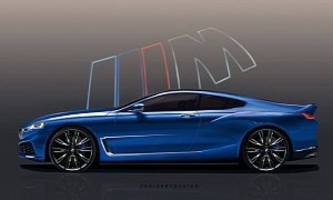 New BMW 8 Series Rendered Based on Official Teaser, 2019 BMW M8 Included