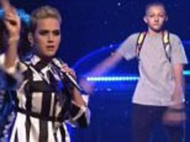 katy perry's dancer 'backpack kid' steals the show on snl