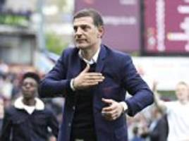 Bilic holds talks with West Ham's board over his future