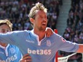 crouch is first to score 50 headers in the epl - top 10