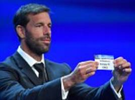 tottenham could face nightmare champions league draw