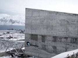 'doomsday' seed vault entrance repaired after thaw of ice