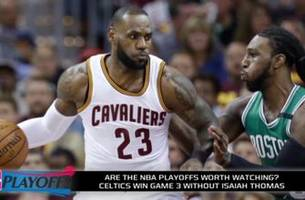 are the nba playoffs worth watching amidst number of blowouts?
